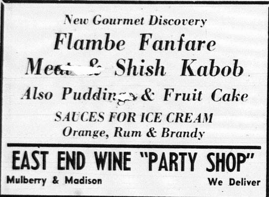 This ad ran in the December 16, 1963 Lancaster Eagle-Gazette