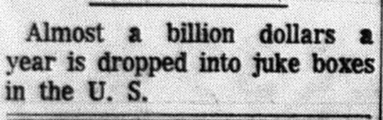 This appeared in the December 16, 1963 Lancaster Eagle-Gazette