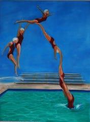 """Tara O'Neill's """"Diver."""""""