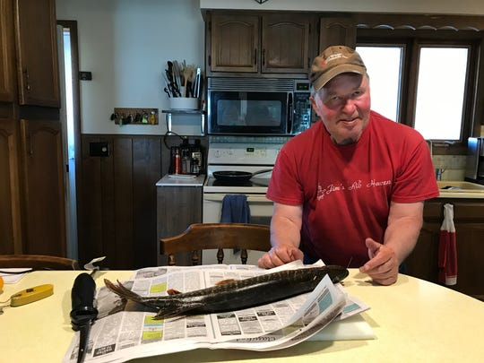 Jim Held, a 1975 Menomonee Falls North High School graduate, enjoys fishing and outdoor activities at his Pelican Lake home. Because Held was diagnosed with multiple system atrophy, he will eventually be confined to a wheelchair.