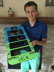 JT Nejedlo, a 2016 Kettle Moraine High School graduate, create the game DELU while in college at UW-Madison.