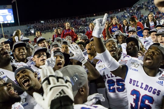 Louisiana Tech defeated University of Miami 14-0 to win the Independence Bowl in Shreveport, La. on Dec. 26.