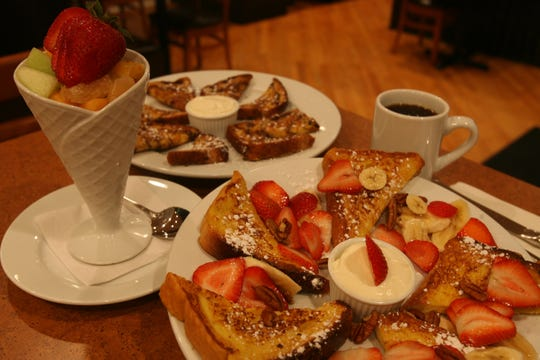 You can opt for vegan pancakes, French toast and waffles at Rutherford Pancake House.