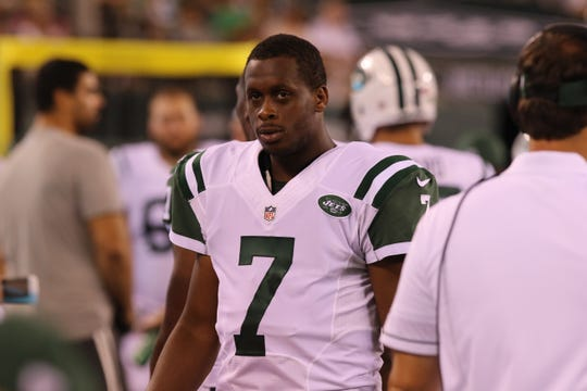Jets' Geno Smith during a 2016 game.