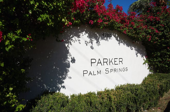 The Parker Palm Springs is photographed Monday, September 29, 2014.