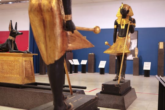 The Museum of Ancient Wonders features genuine and replicated artifacts from ancient civilizations in Cathedral City, Calif., on Thursday, December 26, 2019.