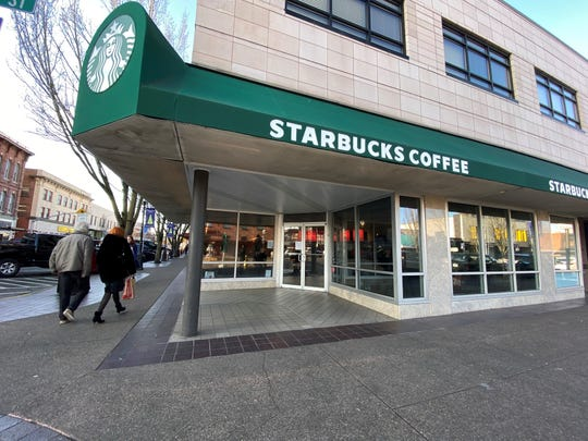 Starbucks at 399 Court St. NE in Salem will be replaced in 2020 by Bentley's Coffee. Photographed on Dec. 26, 2019.