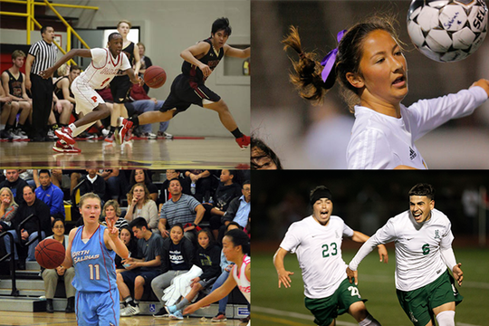 Notable players on the soccer field and basketball court powered Salinas high schools to regular season wins and postseason glory during the 2010s.
