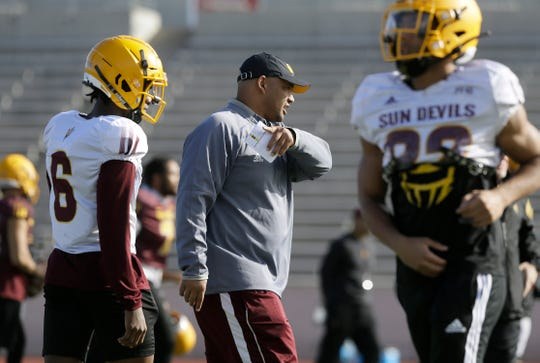 Arizona State defensive coordinator Tony White played in the Sun Bowl with UCLA in 2000 and played at Burges High School in El Paso.