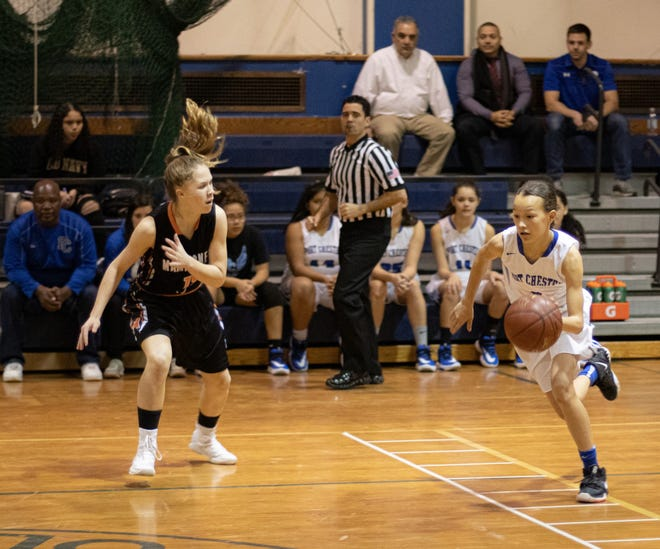 Port Chester's eight-grade point guard, Kayleigh Heckel, scored 73 points and was named all-tourney at last weekend's Saunders Holiday Tournament. She was voted lohud girls basketball player of the week by a wide margin.