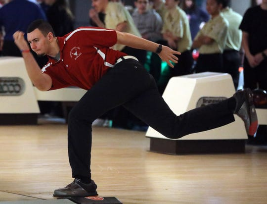North Rockland's Nick Varano and his teammates on the school's boys and girls bowling team were scheduled to compete in the large-school state championships, which were canceled by the NYSPHSAA.