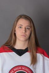 Rye goalie Anabelle Thomas, The Journal News/lohud Ice Hockey Player of the Week