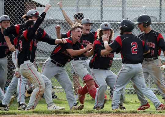 Columnist Brad Myers is mad because he can't watch Delaware's high school spring sports athletes compete, like watching William Penn celebrate a walk-off win in the first round of the 2019 DIAA Baseball Tournament.