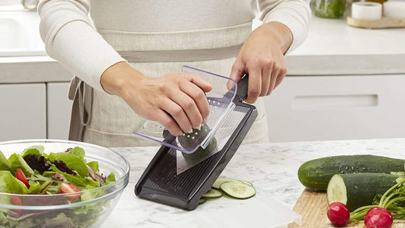 Forget dicing, this mandoline slicer will handle everything.