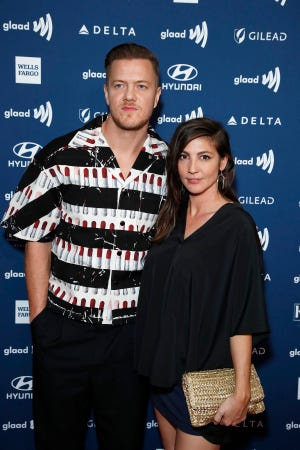 Imagine Dragons frontman Dan Reynolds and his wife, singer Aja Volkman, married in 2011 and split almost two years ago. But the couple reconciled this year. By Christmas, he had re-proposed.