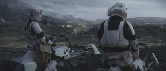 Storm Troopers in Chapter 8 of The Mandalorian