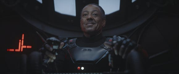 Moff Gideon in Chapter 8 of The Mandalorian