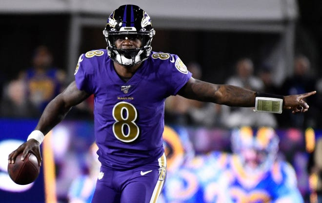 Lamar Jackson is the favorite to win the NFL's MVP award this season.