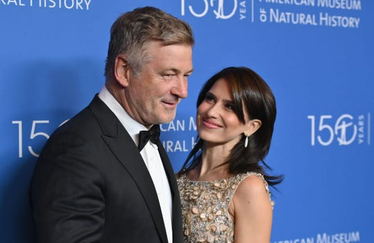 Alec Baldwin and Hilaria Baldwin attend the American Museum of Natural History Gala on Nov. 21, 2019 in New York City.