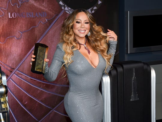 """La cantante Mariah Carey participa en la iluminación ceremonial del Empire State Building para conmemorar el 25 aniversario del divulgación de su sencillo """"All I Want For Christmas Is You"""" el martes, diciembre. 17, 2019, en Nueva York. (Foto por Evan Agostini / Invision / AP) ORG XMIT: NYEA102 """"encantado ="""" 540 """"data-mycapture-src ="""" """"data-mycapture-sm-src ="""" """"/> <meta itemprop="""