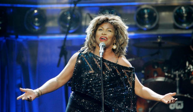 A North Carolina mural of pop star Tina Turner has been defaced with a red swastika.