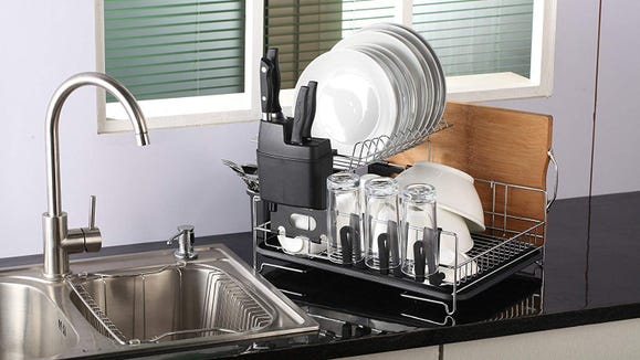 It's the swanky dish rack you never knew you always wanted.
