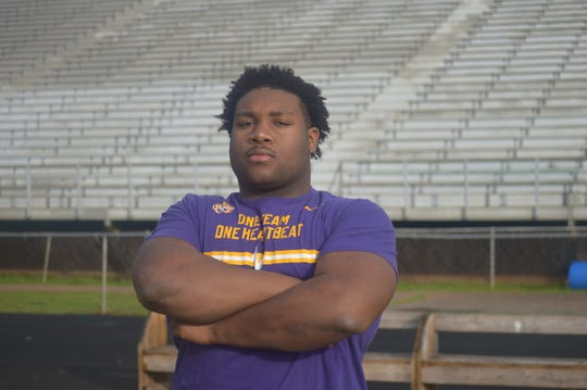 ASH's Jacobian Guillory is the 2019 All-Cenla Defensive Player of the Year.