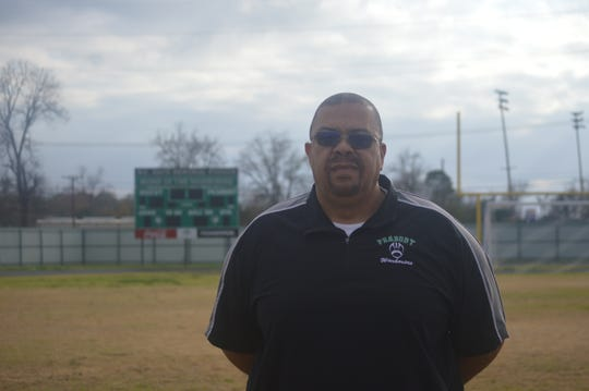 Peabody coach Marvin Hall is the 2019 All-Cenla Coach of the Year in football.
