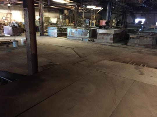 Photo shows hazardous factory after the EPA cleaned up in December 2017 in Madison Heights.