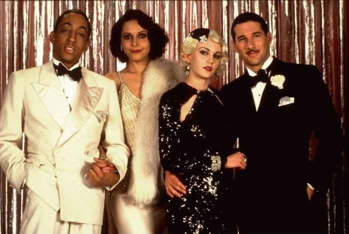 """Gregory Hines, left, Lonette McKee, Diane Lane and Richard Gere in """"The Cotton Club."""""""