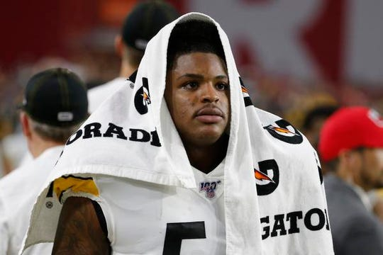 Devin Bush has played 82% of the Steelers' defensive snaps and ranks second on the team in tackles.