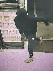 Stop N Go surveillance photo of armed robbery suspect from Dec. 27, 2019.