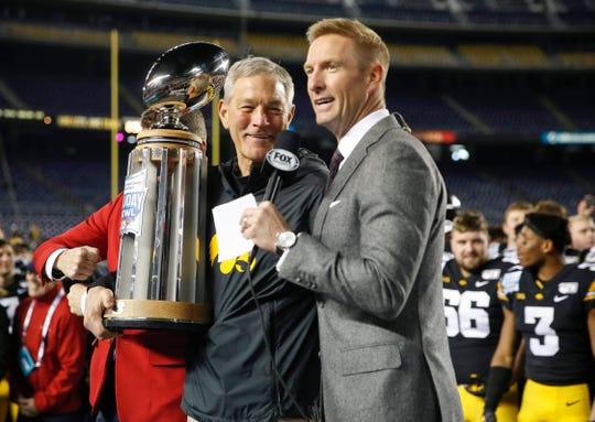 Kirk Ferentz has finished with six top-15 finishes as Iowa's head coach.