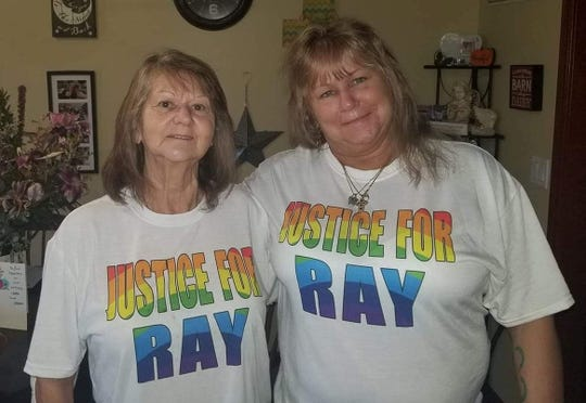 Dottie Hoagland-Hanish, left, and Roxanne Collins, Ray Hanish's mother and sister, say they are looking for answers into his March 17, 2019, homicide in Reynolds.