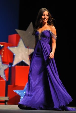 Carley McCord, daughter-in-law to LSU offensive coordinator Steve Ensminger, died in a plane crash Dec. 28 in Lafayette. McCord is shown in a file photo from the 2011 Miss Lafayette competition.
