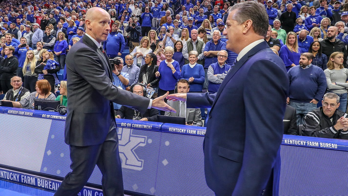 John Calipari didn't watch Chris Mack video but heard 'there was a lot of whining on it'