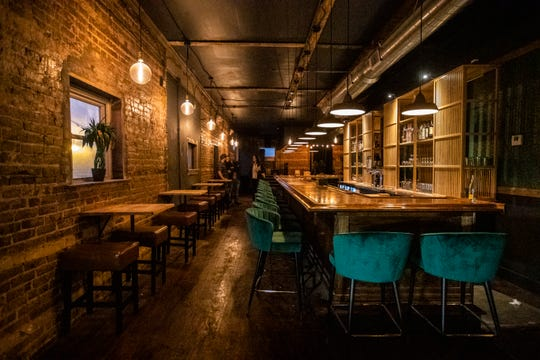 High Noon is a new bar and lounge above Lucky Cat on Broad Ave set to open New Year's Eve.
