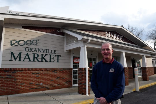 Dairy Department Manager Tom Dyar has been with Ross' Granville Market for the past 13 years.
