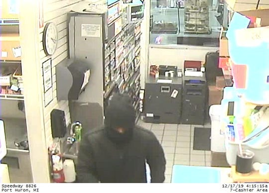 Port Huron Police Department is seeking information on this man in regard to recent robberies in the Port Huron area.