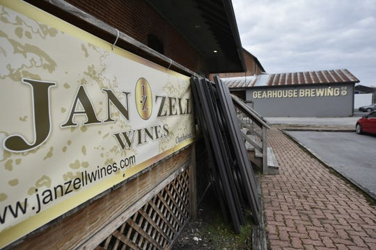 Jan Zell Wines and Ciders and Gearhouse Brewing Co. are neighbors on Grant Street.