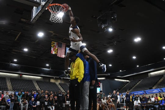 The 39th Annual Governors Challenge held its Dunk Contest on Friday, December 27, 2019 at the Wicomico Youth and Civic Center.