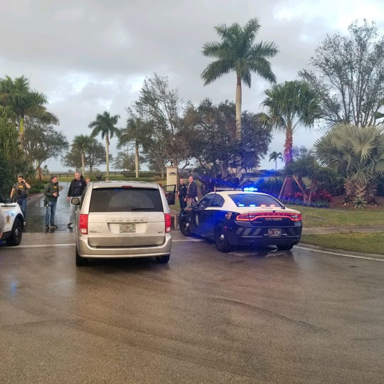"The Martin County Sheriff's Office tweeted Friday, Dec. 27, 2019: ""Police activity Bridge Rd east of I95. The Martin County Sheriffs Office and FHP just assisted the FBI in the takedown of a suspect wanted in Colorado on a warrant for attempted murder."""