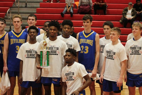 Travelers Rest finished in third place in the 2019 Poinsettia Classic.