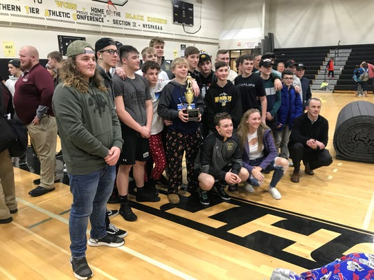 Runner-up in the Windsor Christmas Tournament? Uh-huh, the Black Knights.