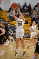 Allison Teglovic led the Northern 10 in scoring this year as a junior.