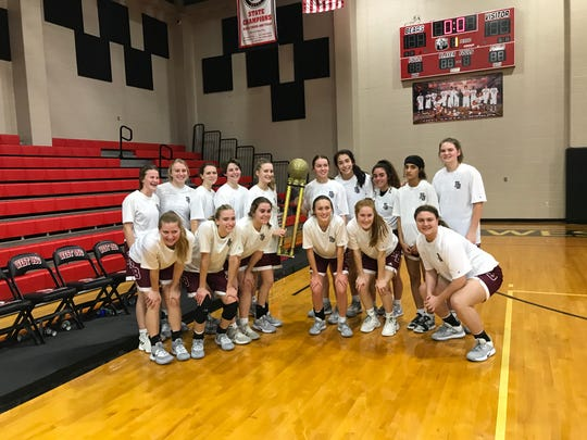 Flour Bluff defeated West Oso 43-29 to win the Roy Williams Holiday Classic at West Oso on Saturday, Dec. 28, 2019.