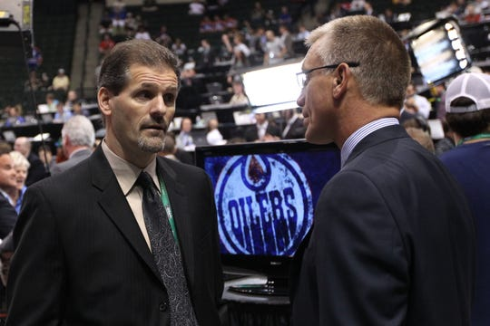 In 2013, Paul Holmgren hired Ron Hextall away from the Los Angeles Kings to have Hextall ultimately succeed him in Philadelphia as general manager.