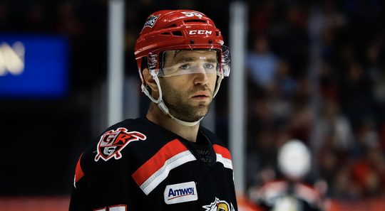 Grand Rapids captain Matthew Ford scored two goals against Milwaukee on Saturday.