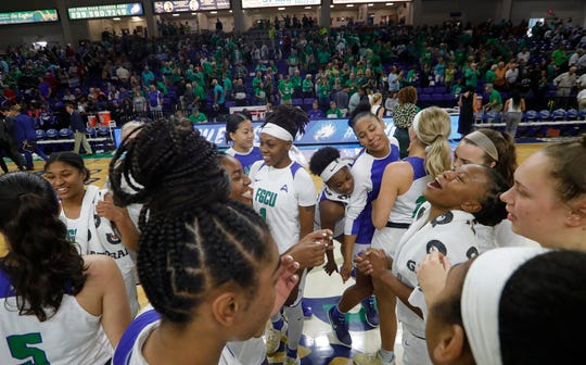 The FGCU women's basketball team cruised to a victory after a 78-56 win over Duke on Sunday at Alico Arena. The Eagles were ranked 25th in Tuesday's USA Today Coaches Poll.