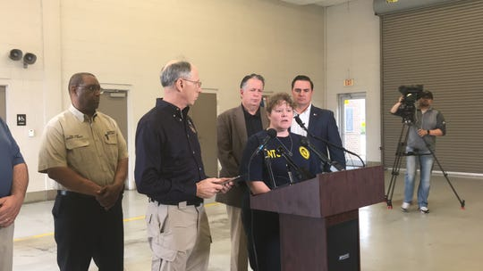National Transportation and Safety Board Lead Investigator Jennifer Rodi provides an update on Dec. 29, 2019, about the plane that crashed in Lafayette, Louisiana, killing five people.